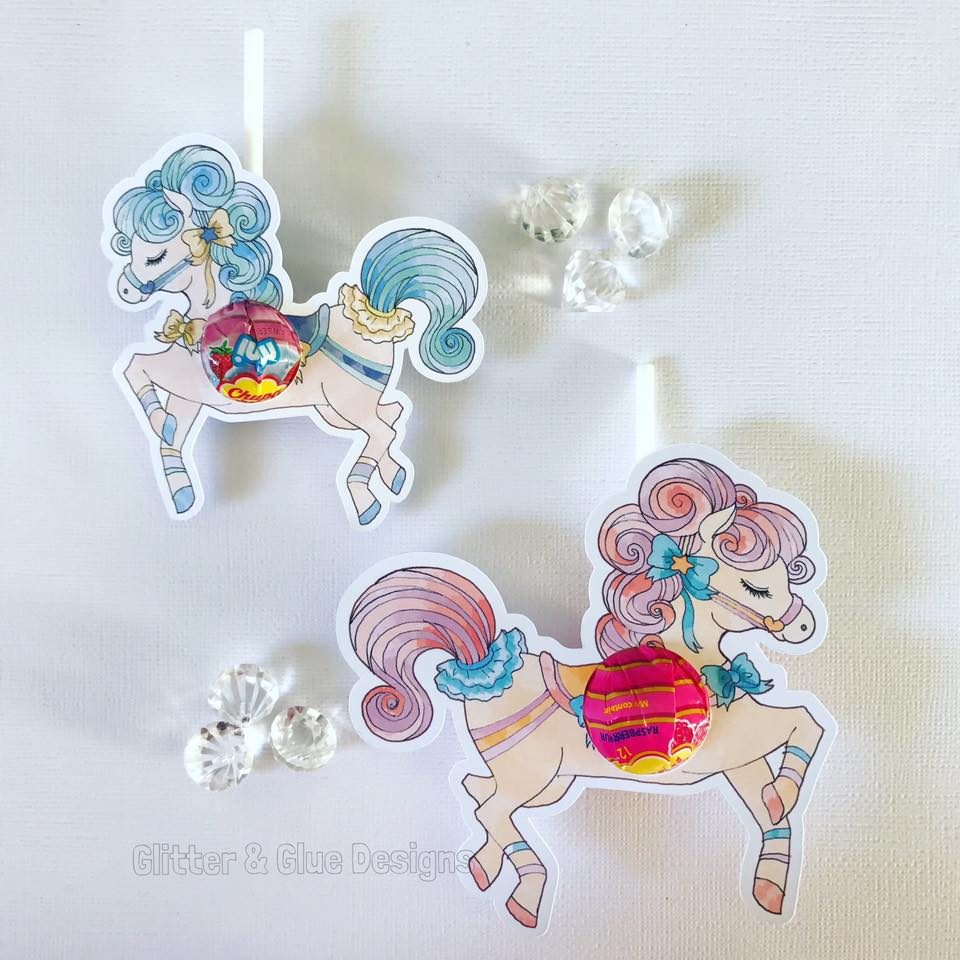 carousel party favors