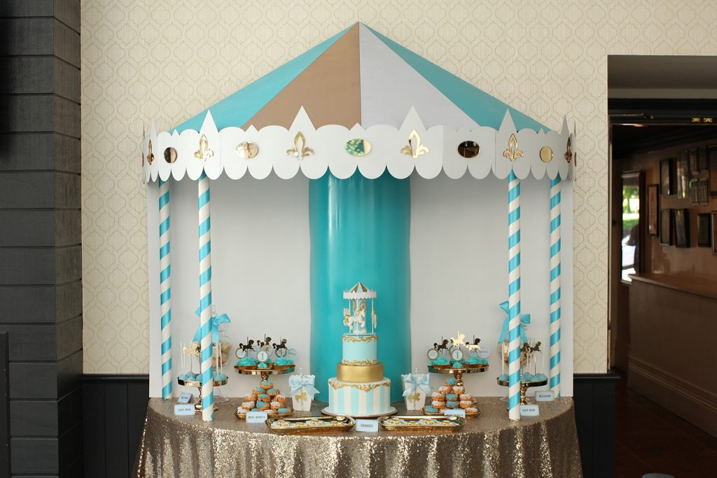 carousel party styling