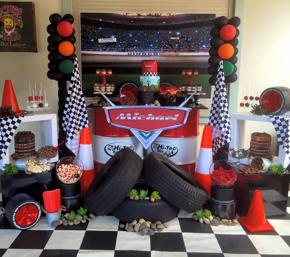 Disney Pixars Cars Movie Party Inspiration