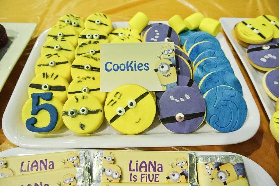 minions cookies