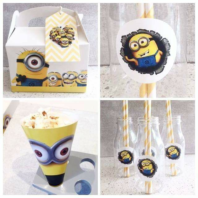 minions party favours