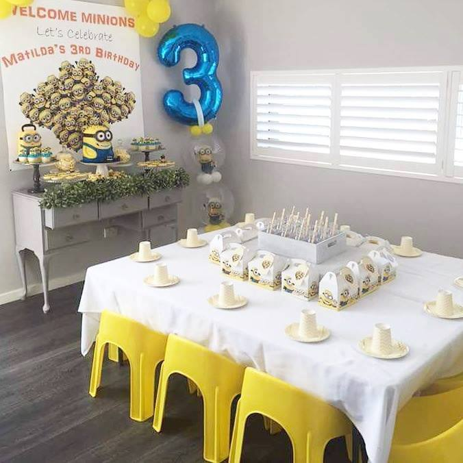 minions party inspiration