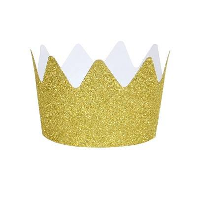 gold crown party hats
