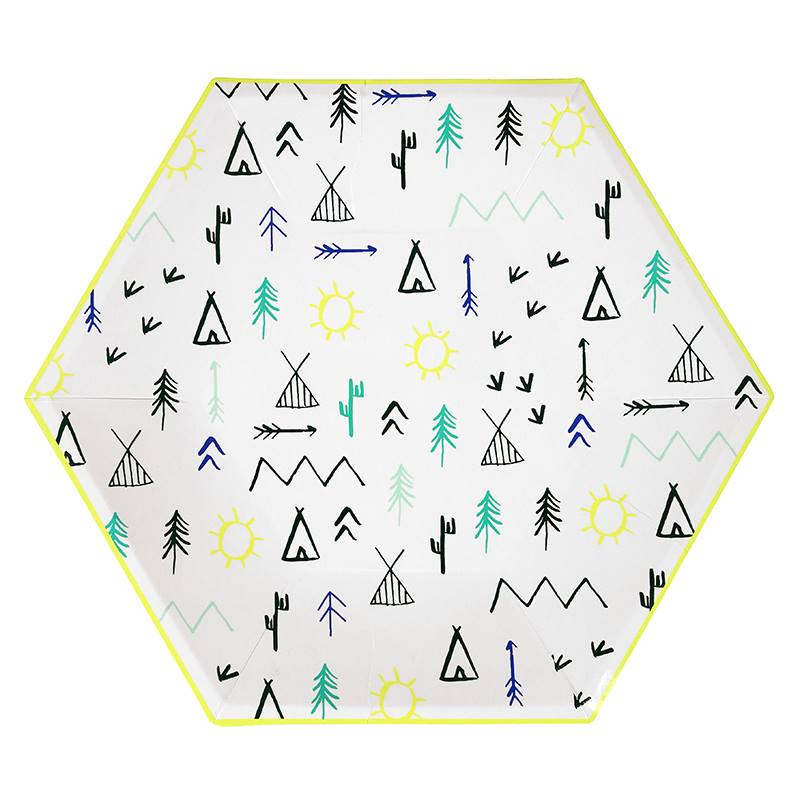 camping party theme