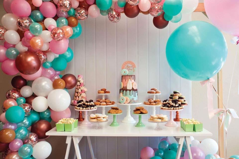 Donut Party Style Inspiration