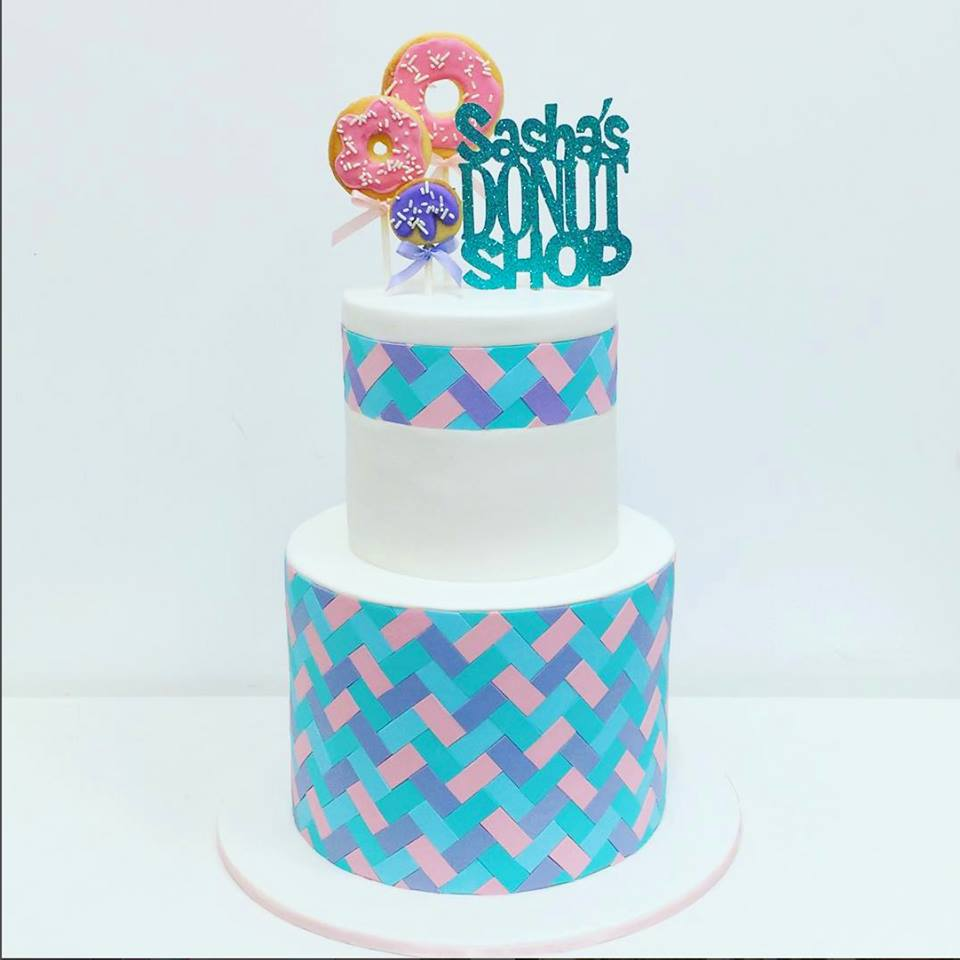 donut cake toppers