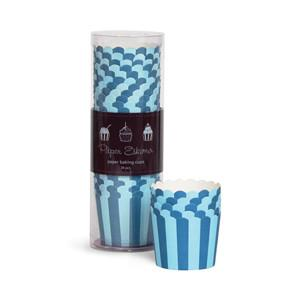 blue cupcake wrappers