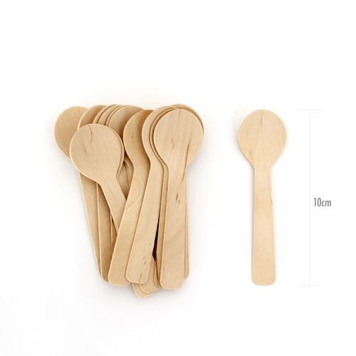 disposable wooden spoons