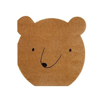 bear party napkins