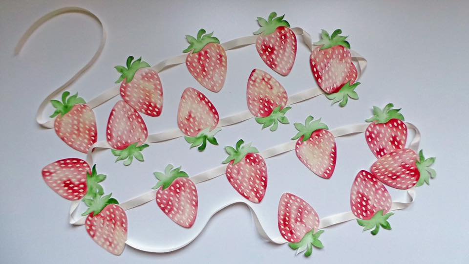 strawberry decorations