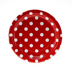 strawberry party tableware
