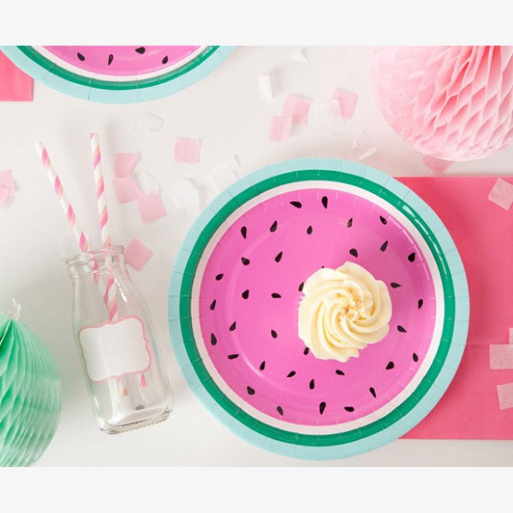 watermelon tableware