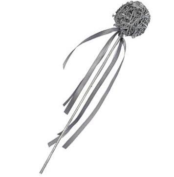silver wand party favour
