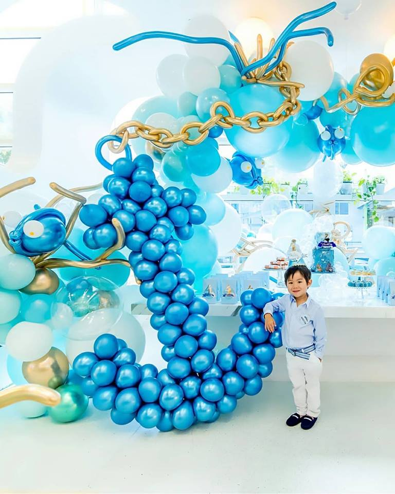 nautical theme balloons