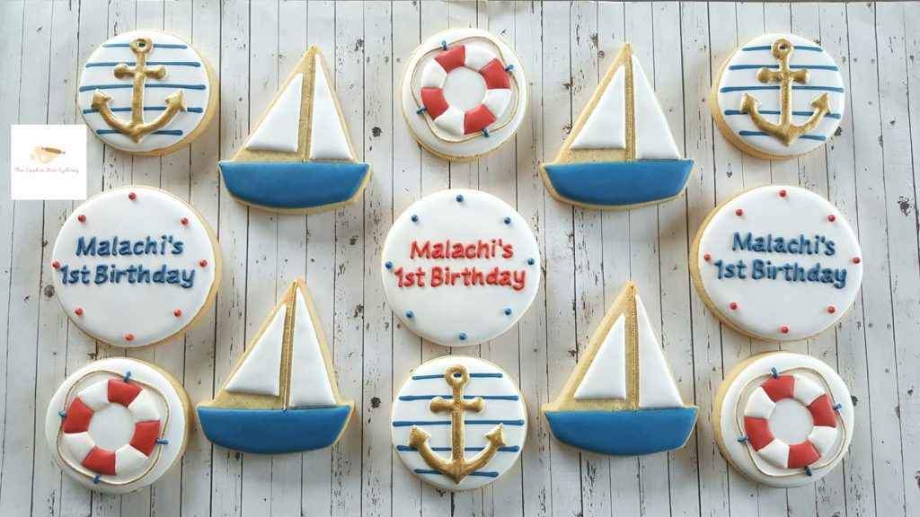 nautical cookies