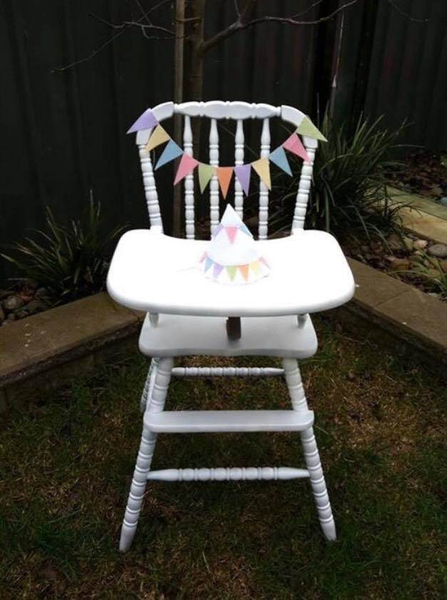 vintage high chair hire