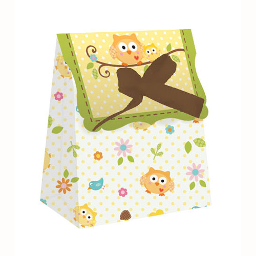 woodland party favour bags