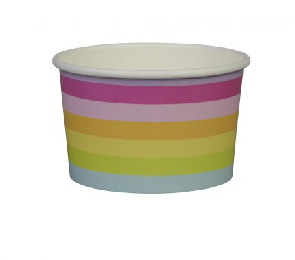 rainbow party treat cups