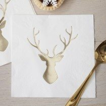 woodland party tableware