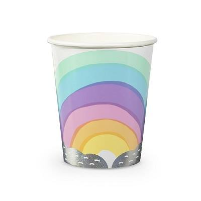 rainbow party tableware