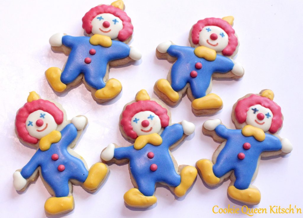 clown cookies