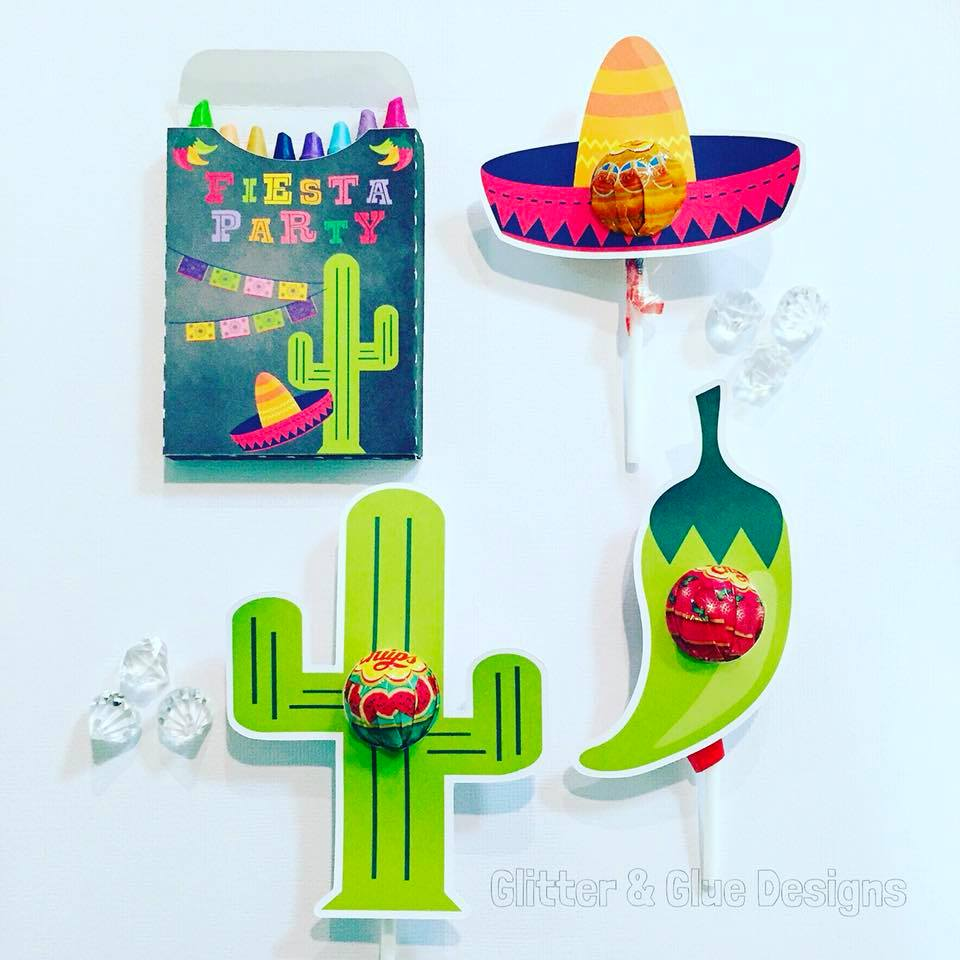 fiesta party favours