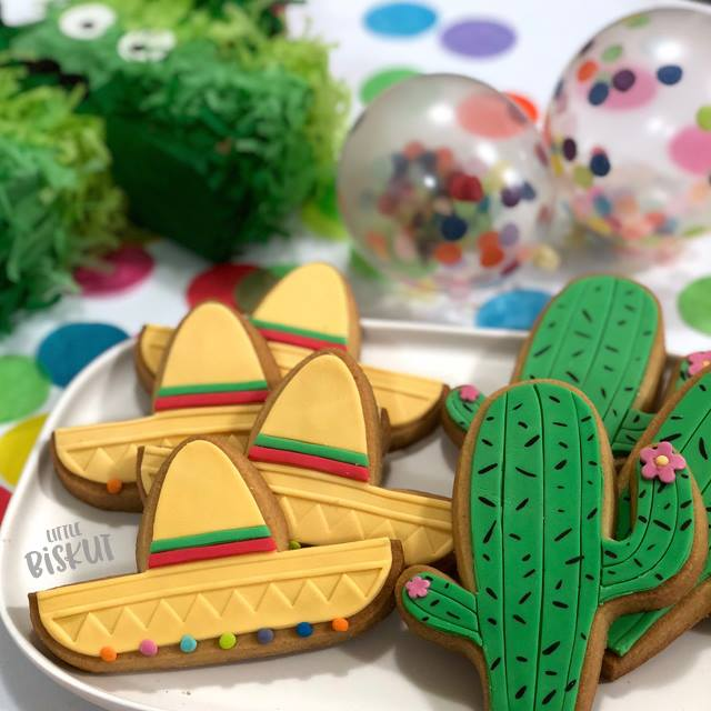 fiesta party cookies