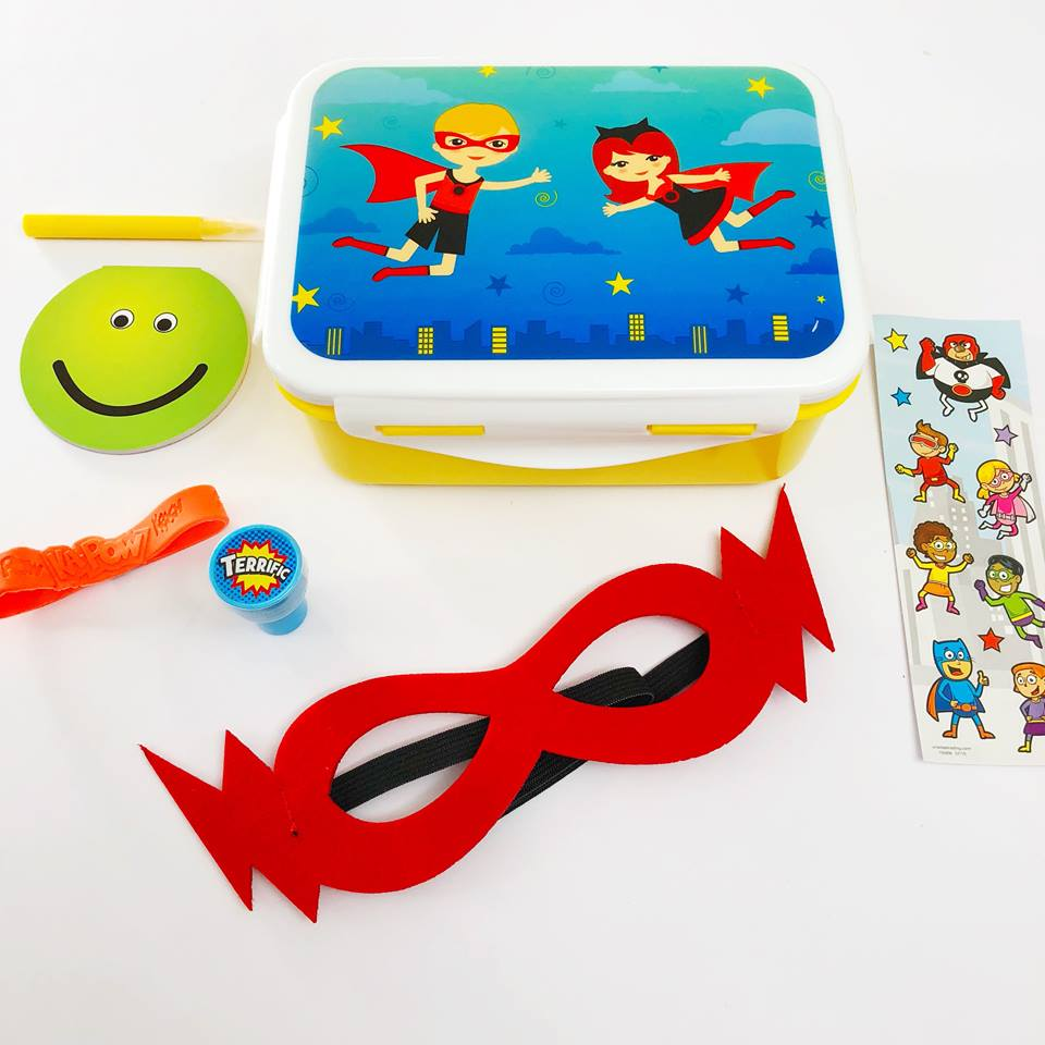 superhero party favours