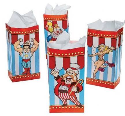 carnival party favour bags