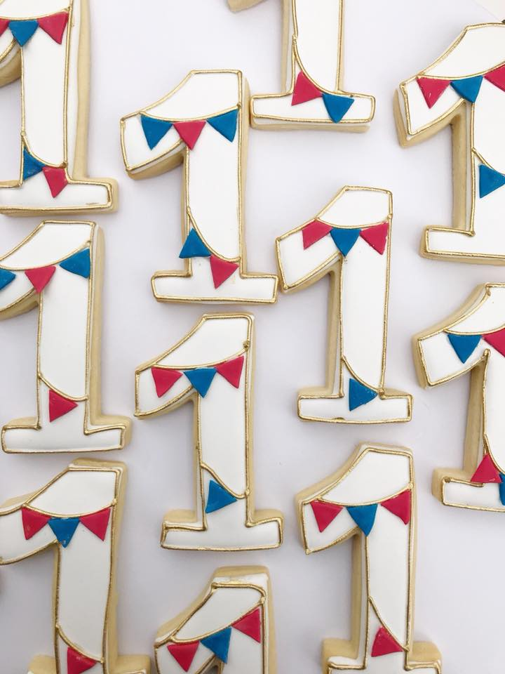 carnival inspired cookies