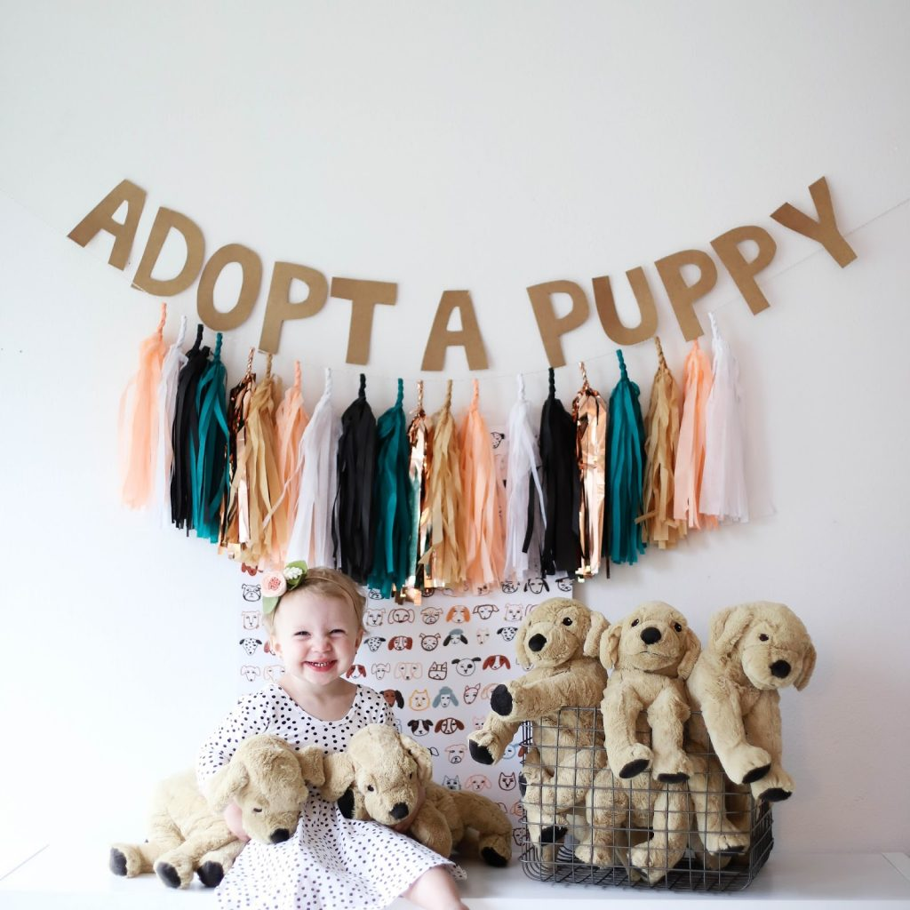 adopt a puppy party ideas