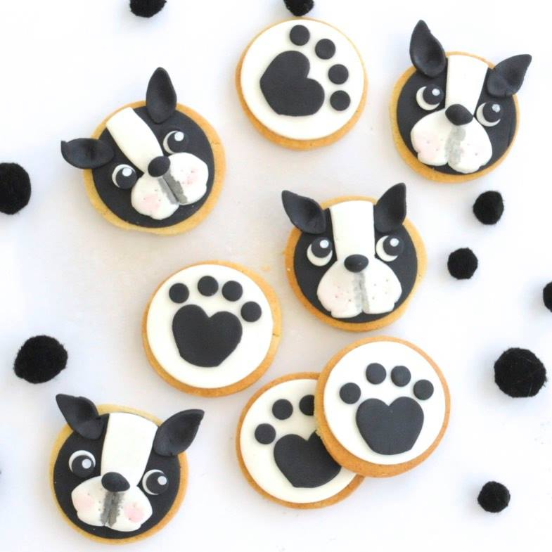 puppy party cookies