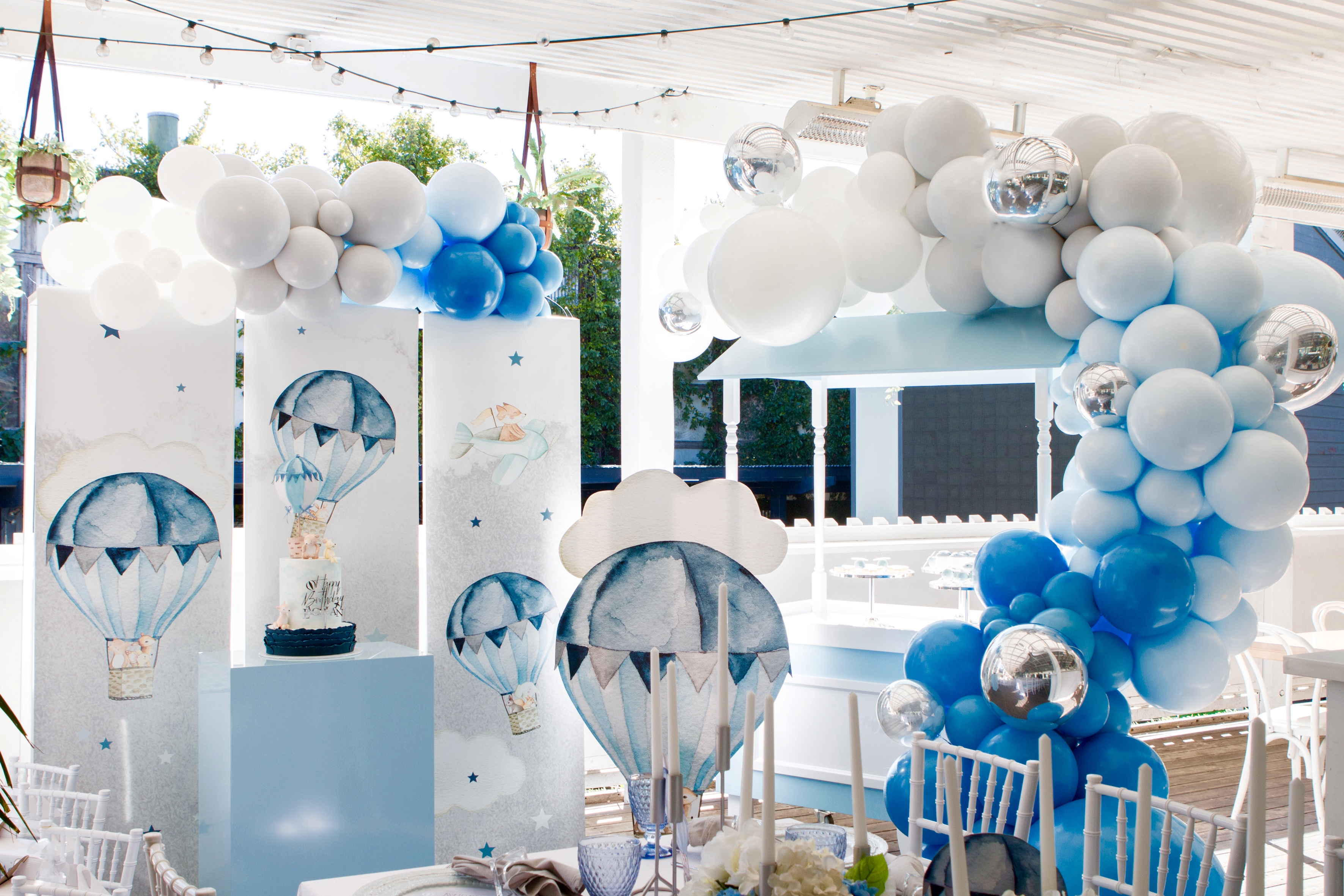 Hot Air Balloon Themed Party Cups