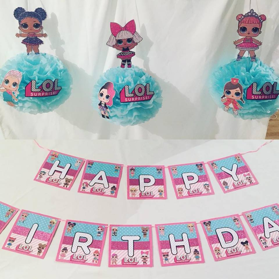 Fabulous LOL Surprise Doll Party Supplies - Lifes Little Celebration NK41